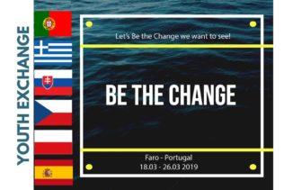 YE BE THE CHANGE | Faro, 18.–26.3.2019