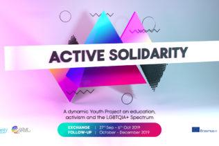 YE ACTIVE SOLIDARITY   Nea Makri, Řecko, 27.9.–6.10.2019