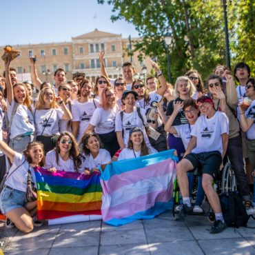 Klára tells us about her colorful autumn experience in Greece!   ACTIVE SOLIDARITY