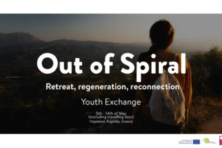 YE Out of Spiral, Řecko, 5.–14.5.2020
